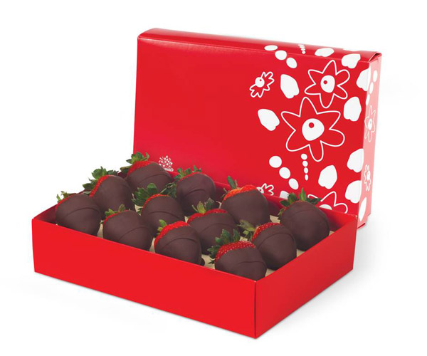 Custom Printed Boxes For Chocolate Covered Strawberries Wholesale Packaging For Chocolate Covered Strawberries