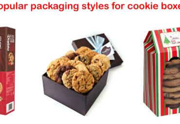Custom Cookie Packaging Boxes