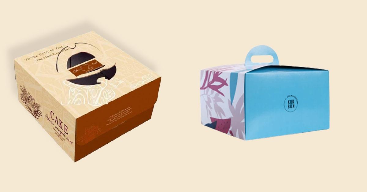 Custom Cake Boxes at wholesale rates
