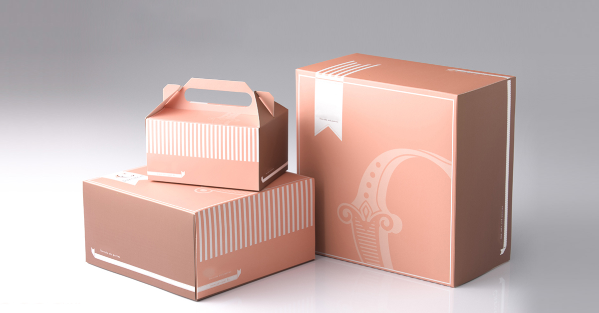 Bakery boxes printed