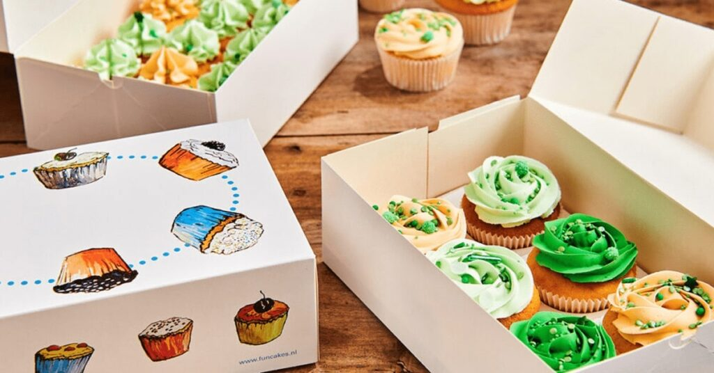 Cupcake Packaging Boxes Wholesale